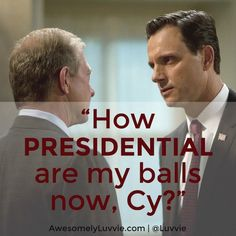 Guess Who's Coming to Dinner: #Scandal Episode 302 Recap. President Fitz had the best line of the episode.