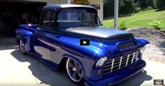 A MUST SEE CUSTOM 1955 CHEVY PICK UP TRUCK