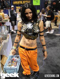 Female Whiplash, Iron Man 2 cosplay.