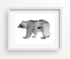 Winter Bear  This is a reproduction of my original watercolor. Print out this wall artwork from your home computer or send to your local print shop to add a pop of color to your home or office! Have fun decorating for the New Year!  Print includes: 1 JPG files & 2 PDF files  Your order will include one (1) JPG & two (2) PDFs. Youll get every file described below. Having these multiple files helps ensure that you can print the design at your home or local print shop, however you decid...