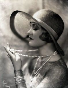 Laura La Plante, best known for her Silent Film roles. During the 1920's she appeared in more than 60 films.