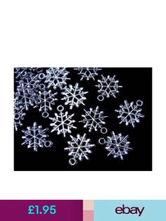 Snowflake Ultimate Charm Collection Antique Silver Tone 25 Charms COL320