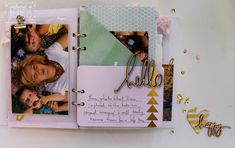 Well a few weeks ago I decided to grab some of the new Heidi Swapp wanderlust goodies,. To be honest I really was trying to. Mini Album Tutorial, Heidi Swapp, Mini Albums, Magnolia, Goodies, Wanderlust, Notebook, Tutorials, Inspiration
