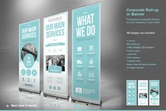 Business Roll-Up Banner by TypoEdition on @creativemarket