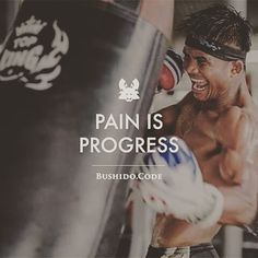 Muay Thai photo with Buakaw on the bag. martial arts quotes