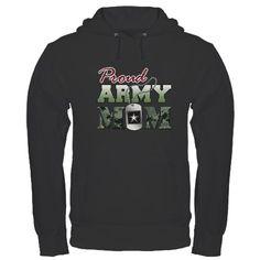 Proud Army Mom Sweatshirt:  Size large