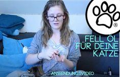 Wir zeigen Euch wie Du das Haut- und Fellpflege Öl von Andrea and the Dog bei deiner Katze aufträgst. Streicheln, Pflegen, Schnurren - haben alle was davon.   Die Inhaltsstoffe in bester Bio-Qualität und alles weitere kannst du auf andreaandthedog.com nachlesen.   #katzenliebe #fellpflege #hautpflege #katzenpflege #naturproduktefürkatzen #tutorial #anwendungsvideo Videos, Cats, Skincare Routine, Gatos, Cat, Kitty, Kitty Cats