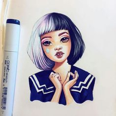 Beautiful drawing by Lera Kiryakova