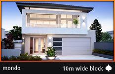 Mondo - 10m Wide Block -  Perth Home Builders  perthhomebuilders.net.au