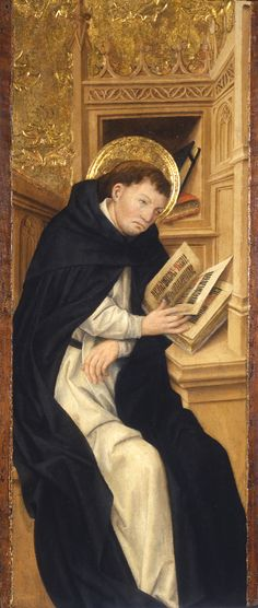 St Dominic in his study (?)