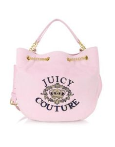 Juicy Couture Juicy Pinklady Bucket Handtasche in rosa #accessories #women #covetme #juicycouture