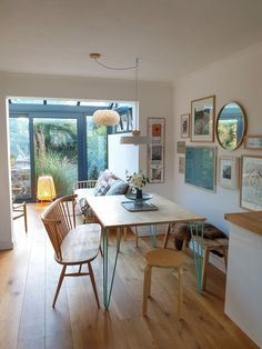 How to extend your home with style, for less than you might think. - Alice in Scandiland Small Conservatory, Conservatory Extension, Conservatory Kitchen, Conservatory Design, House Extension Design, Extension Designs, House Design, Design Homes, Extension Ideas