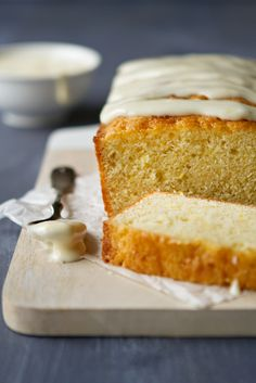 Meyer Lemon Cake with Cream Cheese Icing. This recipe is baked in two loaf pans, so there's plenty to go around. It's perfect on its own as a sweet breakfast treat or layered with fresh berries in mini glasses to create a stunning and springy dessert.