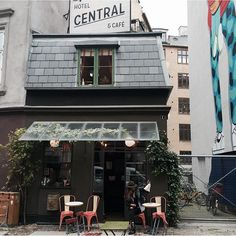 """Coffee...#centralhotel #copenhagen #travel"" Photo taken by @bakchic_thelabel on instagram."