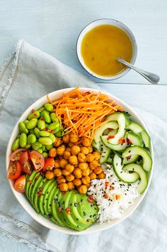 Poke Bowl, New Recipes, Vegetarian Recipes, Healthy Recipes, Cleanse Recipes, Diners, Vegan Snacks, Food Inspiration, Stage