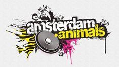 amsterdam animals dj collective | logo design
