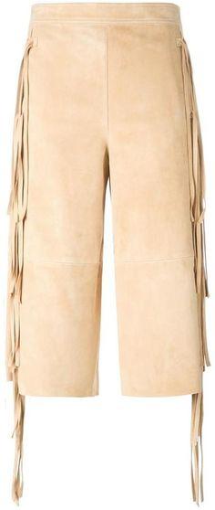 Chloé fringed culottes