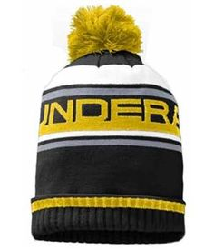Under Armour Old School Striped ColdGear Beanie - http://www.golfonline.co.uk/under-armour-old-school-striped-coldgear-beanie-p-8506.html