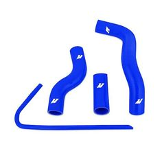 Mishimoto 12-14 Subaru BRZ / 13 Scion FR-S / 12-14 Toyota GT86 Silicone Radiator Hose Kit - Blue