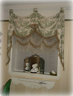 Green Toile Guest Bedroom