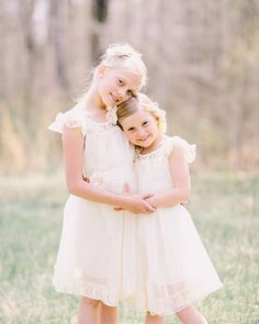 The Charlotte - Ivory,Lace, Chiffon Flower Girl Dress,made for girls and toddlers. Etsy $68.73