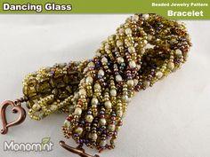 Dancing Glass - Bracelet Beading Pattern PDF. $3.99, via Etsy.