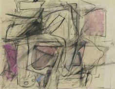 "Willem de Kooning, ""Untitled,"" c. 1950"