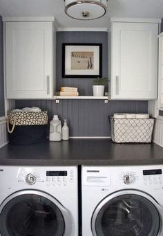 Nice 99 Totally Inspiring Small Functional Laundry Room Ideas. More at http://99homy.com/2018/02/23/99-totally-inspiring-small-functional-laundry-room-ideas/