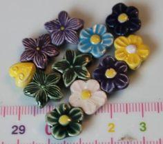 11 kaunista keramiikkahelmeä, myyjä Maili http://www.taitomaa.fi/shop/maili