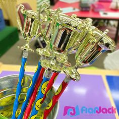 FlapJack Educational Resources: DIY Trophy Pencil Awards - Easy to make pencil prizes to motivate your students!