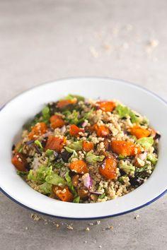 Ensalada de mijo - Esta ensalada de mijo está buenísima y se puede tomar fría o templada. Es una receta muy sencilla y puedes añadirle lo que quieras.