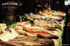 Barcelone 2015 - La Boqueria - Poisson Paella, Turkey, Food, Grilling, Barcelona, Fish, Kitchens, Peru, Meal