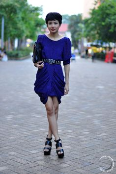 Singapore Street Style : Nadira Abdullah