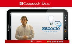 """Plataforma virtual """"Creación de pequeñas y medianas empresas"""" - Portal Coopeuch Educa"""