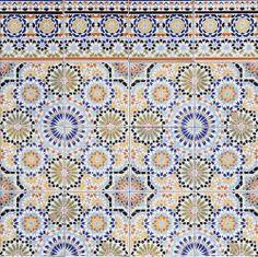 """Fliesen-Bordüre aus Marokko """"Ratila"""" - Casa Moro"""
