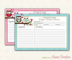 Recipe cards, Ray bans and Cards on Pinterest
