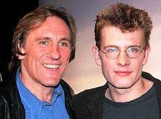 Gerard Depardieu and son