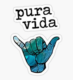 Pura Vida stickers featuring millions of original designs created by independent artists. Laptop Stickers, Cute Stickers, Jeep Stickers, Wallpaper Quotes, Iphone Wallpaper, Schrift Design, Small Canvas Paintings, Birthday Wallpaper, Pura Vida Bracelets