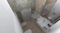 Aparici Carpet, mała łazienka z kabiną prysznicową-#small Bathroom,#tiles Aparici Carpet