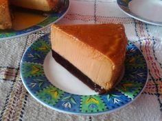 Receta de Flan de Cajeta con Gelatina de Café
