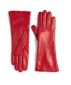 Fashion Week NYC: Saks Fifth Avenue Collection Leather Gloves