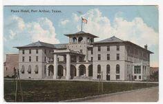 Details about Plaza Hotel Port Arthur Texas 1916 postcard