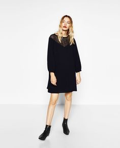 BELL SLEEVE DRESS-NEW IN-WOMAN | ZARA United States