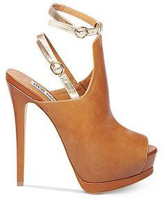 Steve Madden Women's Shoes, Wexlerr Ankle Wrap Platform Sandals - Sandals - Shoes - Macy's