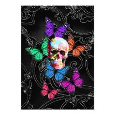 day of the dead butterflies - Google Search