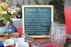 Baby Shower Brunch by heatherbethtay, via Flickr