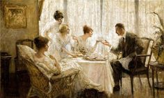 Edmund Franklin Ward (1892 – 1990) « AMERICAN GALLERY americangallery.wordpress.com600 × 362Buscar por imagen Afternoon Tea With The Gentleman  Henry Salem Hubbell - Buscar con Google