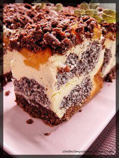 Baklava Cheesecake, First Communion Cakes, Polish Recipes, Pavlova, Homemade Cakes, Us Foods, Cake Recipes, Good Food, Food And Drink