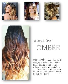 What do you think of the Ombre hair color we are starting to see everywhere? I am personally dying to try it, I just want to grow my hair out a bit. Would you try it?