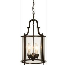 View the Artcraft Lighting AC1320 Manor Single-Tier Mini Chandelier with 3 Lights - 9 Inches Wide at LightingDirect.com.